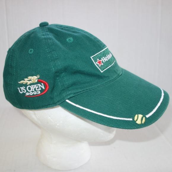 56ef50e361301 Heineken Other - US OPEN HEINEKEN GREEN HAT 2003 TENNIS
